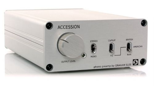 Graham Slee Accession - MM or MC Phono Preamp With Volume Control
